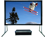Sapphire Rapidfold Rear Projection Viewing Area 3050mm x 1715mm 16:9 Format